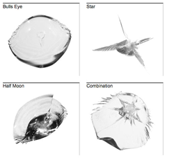 Types of Windshield Rock Chips